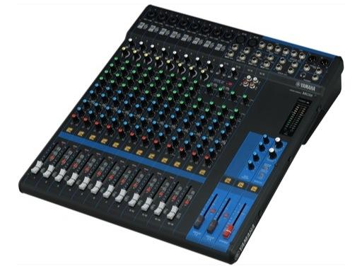 YAMAHA • Console analogique 16 entrées, 10 Mic, Line: 8m + 4st, 4 aux.