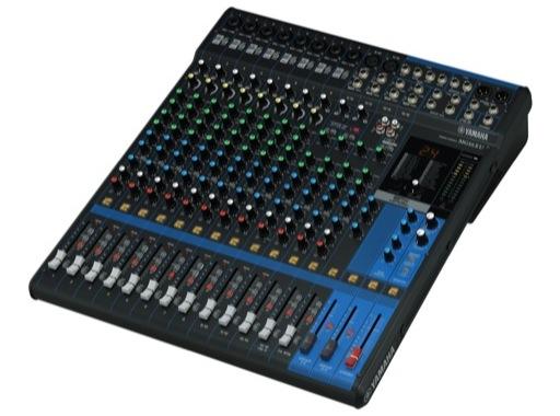 YAMAHA • Console analogique 16 entrées, 10 Mic, Line: 8m + 4st, 4 aux, SPX, USB