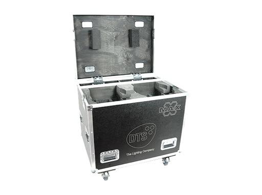DTS • Flight case Pro pour 2 lyres MAX / MAX-L