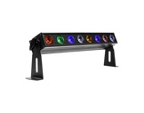 Barre à leds LUMIPIX8H 8 x 12W RVBWAP FC 22° IP33 • PROLIGHTS-barres-led