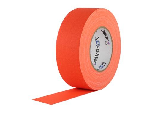 ADHESIF • Gaffer fluorescent orange 50mm x 25m