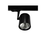 SLI • Projecteur noir Beacon pour lampe MR16 GU10 rail L3-eclairage-archi--museo-