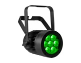 PAR LED MINIVERSAPAR Full RGBW 7 x 10W zoom motorisé 10-40° • PROLIGHTS TRIBE-pars