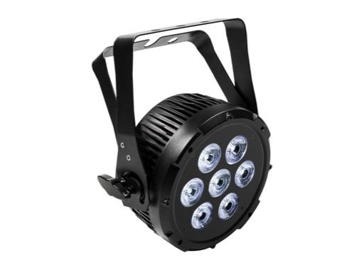 PROLIGHTS • Projecteur à leds LUMIPAR7HPRO 7 x 12W RGBWAUV IP44