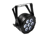 PROLIGHTS • Projecteur à leds LUMIPAR7HPRO 7 x 12W RGBWAUV IP44-eclairage-spectacle
