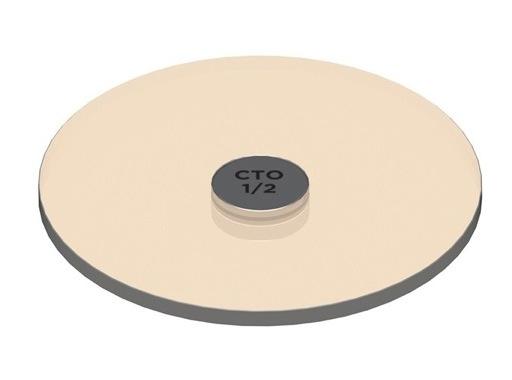 SORAA • SNAP Filtre correcteur de température 1/2 CTO pour LEDs AR111 Soraa 8°