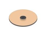 SNAP Filtre correcteur de température 3/4 CTO pour LEDs AR111 Soraa 8° • SORAA-lampes-led