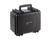 OC • Valise étanche noire 250 x 175 x 155 mm int avec mousse 6,64L-flight-cases