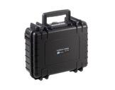 OC • Valise étanche noire 250 x 175 x 95 mm int avec mousse 4,14L-valises-etanches
