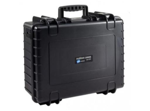OC • Valise étanche 475 x 350 x 200 mm int avec mousse 32,64L