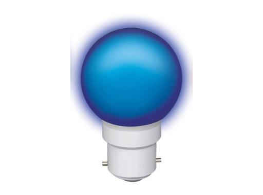 LED sphérique guirlande bleu 0,8W 230V B22d