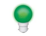 LED sphérique guirlande verte 0,8W 230V B22d-lampes-led