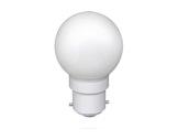 Lampe LED sphérique guirlande blanc froid 0,8W 230V B22d IP20-lampes-led