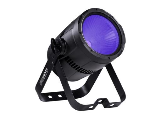 Projecteur PAR LED STUDIOCOB PROLIGHTS 100 W UV 405 nm finition noire