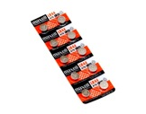MAXELL • 10 Piles alcalines IEC A76 V1,5 mAh80 Ø 11,6H5,4-consommables
