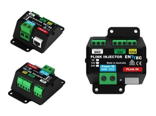 ENTTEC • Plink injector (12V à 24V) pour Pixelator