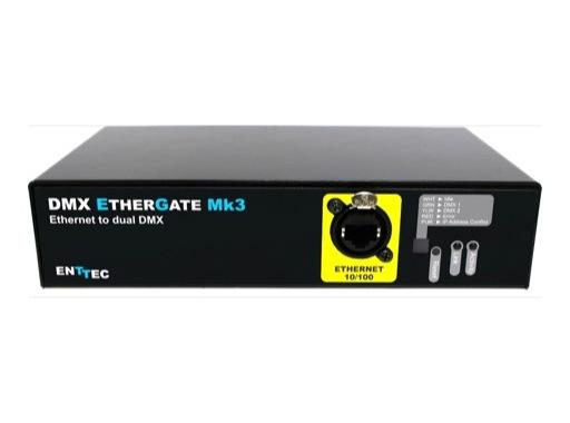 ENTTEC • DMX ETHERGATE MK3