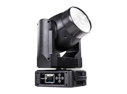 PROLIGHTS • Lyre Beam asservie ONYX, LED 1x 100W, 2°