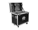 PROLIGHTS • Flight case pour 2 HALUROCK-eclairage-spectacle