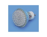 LED UV GU10 2W 230V 20°360lm 15000H-lampes