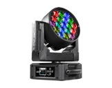 Lyre Wash LED asservie DIAMOND19 PROLIGHTS Full RGBW 19 x 15 W zoom 6-66°-eclairage-spectacle