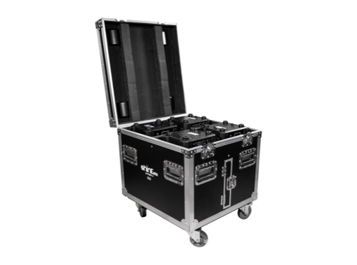 PROLIGHTS • Flightcase pour 4 lyres asservies Ruby / Onyx / Crystal