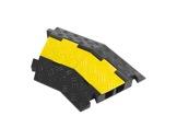 PROTRUSS • Angle 45° pour passage de câbles 2 canaux TEMA75-cablage