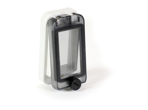 PCE • Fenêtre 49 mm pour 2 disjoncteurs (4 pas de 9mm)