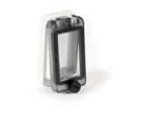 PCE • Fenêtre 49 mm pour 2 disjoncteurs (4 pas de 9mm)-cablage
