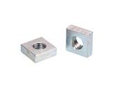 Ecrous cage carré • M6 par 100 pièces-ecrous--vis--rondelles