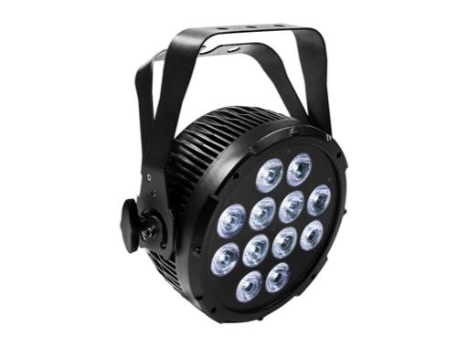 PROLIGHTS • Projecteur à leds LUMIPAR12HPRO 12x12W RGBWA/UV 25° IP44