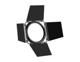 PROLIGHTS • Volets 4 faces + PF noir pour PAR LED STUDIOCOB