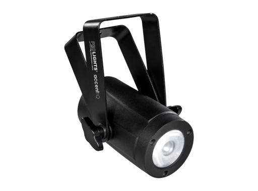 PROLIGHTS • Projecteur LED ACCENT1Q 1 x 10W RGBW/FC 10° IP30