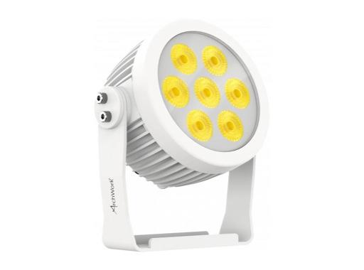 ARCHWORK • Projecteur arcPAR7 LEDs Wash 7x8W, RGBW/FC, 15°, IP66