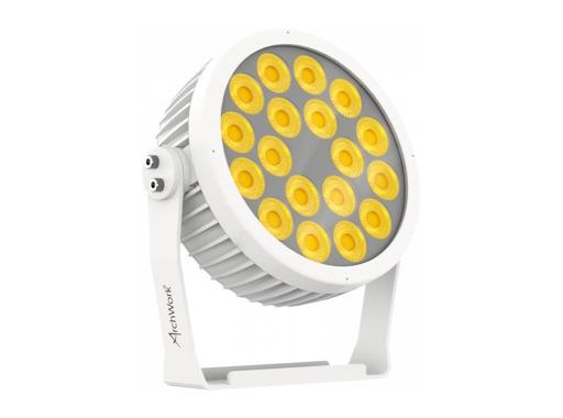 ARCHWORK • Projecteur arcPAR18 LEDs Wash 18x8W, RGBW/FC, 15°, IP65