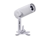 PROLIGHTS • Projecteur blanc à LED pinspot BATPINIR 1x2W CW 5° sur batterie-eclairage-spectacle