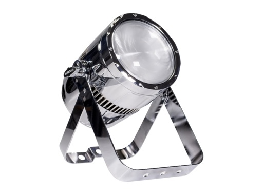 Projecteur PAR LED STUDIOCOB PROLIGHTS 100 W UV 405 nm finition chrome