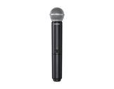 SHURE • Émetteur micro main dynamique cardioïde SM58 Système HF, série BLX-audio