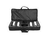 PROLIGHTS TRIBE • Kit de 4 projecteurs blanc LED BATWASHIR 10W RGBAWP en valise-eclairage-spectacle