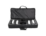 PROLIGHTS TRIBE • Kit de 4 projecteurs blanc LED BATWASHIR 10W RGBAWP en valise-eclairage-spectacle