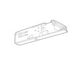 SLI • Alimentation insérable droite blanche pour rail Lytespan 3 L3-eclairage-archi--museo-