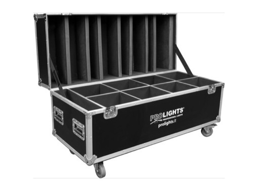 PROLIGHTS • Flight case pour 8 STUDIOCOB ou VERSAPAR