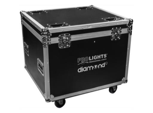 PROLIGHTS • Flight case pour 4 DIAMOND19