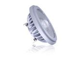 Lampe LED AR111 Vivid 12,5W 12V G53 3000K 8° 620lm IRC95 • SORAA-lampes-led