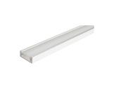 ESL • Profil alu blanc Micro pour Led 3.00m + diffuseur opaline-eclairage-archi--museo-