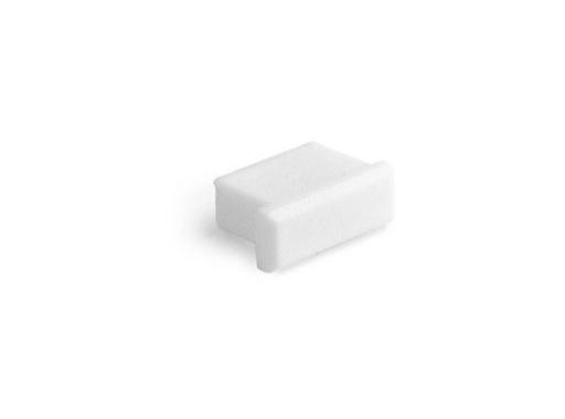 ESL • Embout plein blanc pour profilé gamme Micro