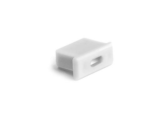 ESL • Embout passage de câble blanc pour profilé gamme Micro