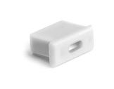 ESL • Embout passage de câble blanc pour profilé gamme Micro-eclairage-archi--museo-