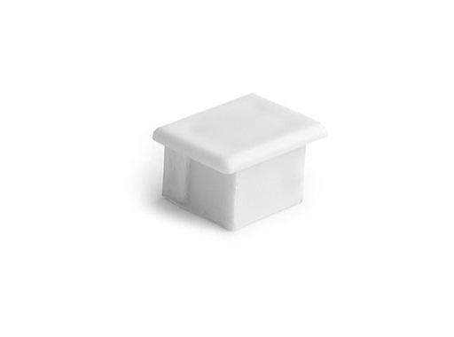 ESL • Embout plein blanc pour profilé gamme PDS4