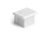 ESL • Embout plein blanc pour profilé gamme PDS4-accessoires-de-profiles-led-strip